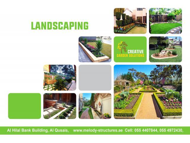 Landscaping in Dubai | Luxury Landscaping Design in Dubai