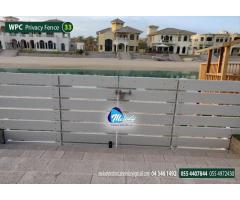 WPC Fence Suppliers in Dubai | Composite Wood Fence in UAE | WPC Privacy Fence
