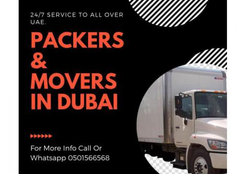 0501566568 Single item Movers in Dubai Homes|Offices Movers in DSO