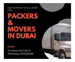 0501566568 Movers and Packers in JVT