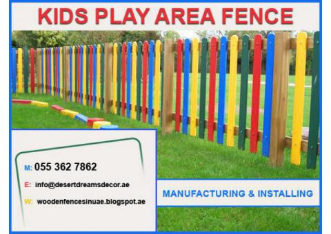 Wooden Fence and Arbors in Uae | Slatted fence | Garden Fence | Abu Dhabi.