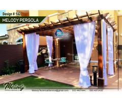 Patio Pergola | Curtain Pergola Suppliers | Outdoor Pergola Manufacturer in Dubai