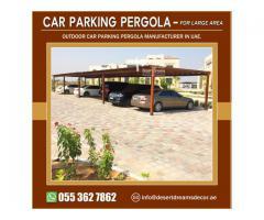 Public car Parking Pergola in Abu Dhabi   Private Car Parking Pergola in Uae.