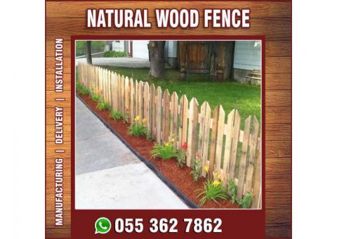 Vertical Wooden Fences in Uae   Horizontal Wooden Fences in Uae.