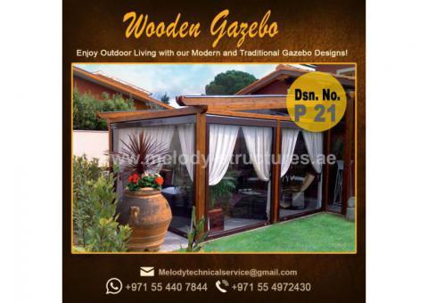 Gazebo in Al Barsha | Garden Gazebo in Dubai | Wooden Gazebo Emirates Hills