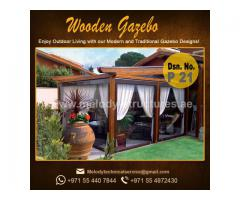 Gazebo in Al Barsha | Garden Gazebo in Dubai | Wooden Gazebo Emirates Hills