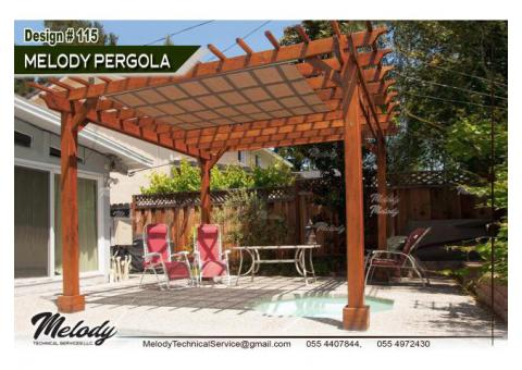 Pergola in Arabian Ranches | Pergola Suppliers in Dubai | Pergola in Green Community