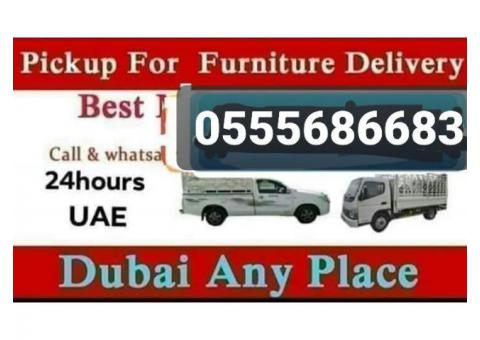 Pickup For Rent in abu hail 0555686683