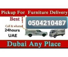 Pickup For Rent In business bay 0504210487