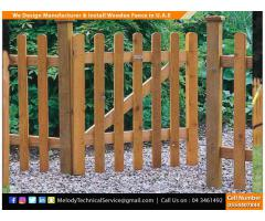 Fence | Garden Fence | Wooden Privacy Fence Suppliers | Picket fence in Dubai