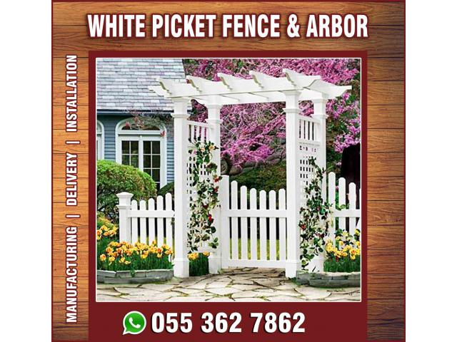 Garden Fence Installation in Uae | Design and Manufacturing.