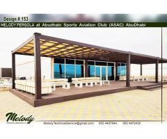 Garden Area Pergola Suppliers in Dubai | Patio Pergola | Balcony Pergola