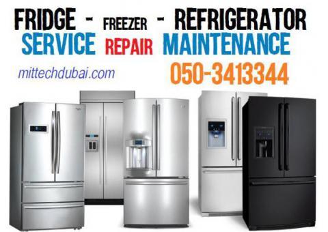 Fridge Freezer Refrgierator Repairing Fixing Gas Filling in Dubai