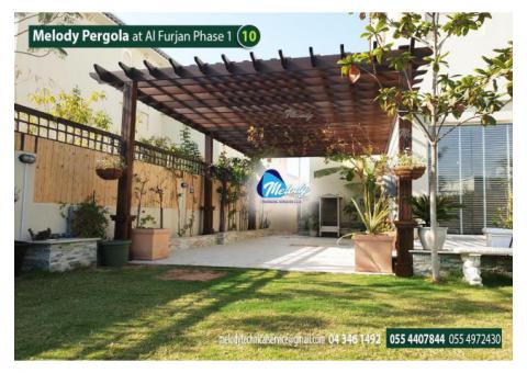Wooden Pergola in Al Furjan | Pergola in Arabian Ranches | Pergola Suppliers in UAE