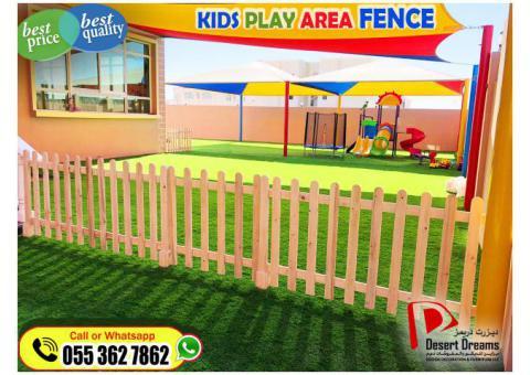 Garden Fence Installation | White Picket Fence in Khalifa City | Events Fences Uae.
