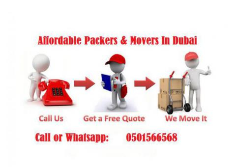 0501566568 Movers in Dubai,Single item,Home,Office,Villa movers in Dubai with close truck