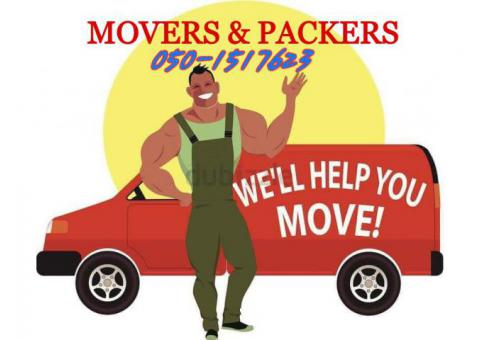 DUBAI PROFESSIONAL MOVERS PACKERS AND SHIFTERS 050 1517623