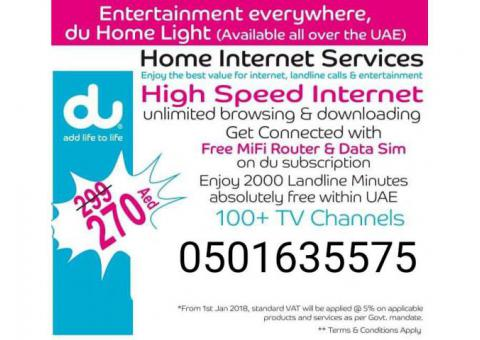 Internet Home WiFi Available in just 269 free router nothing advance all included c/w 0501635575