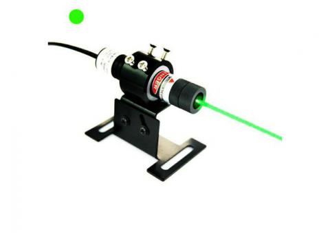 Constant Working 30mW 532nm Green Dot Laser Alignment