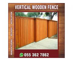 Privacy Vertical Fence in Uae | Privacy Horizontal Fence | Louver Fence Uae.