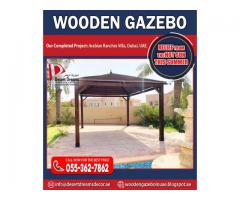 Wooden Gazebo Manufacturer in Uae | Gazebo Repairing, Maintenance, Re-Polishing.