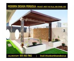Pergola Re-polishing Works in Uae | Pergola Manufacturer and Suppliers in Abu Dhabi.