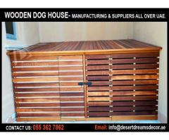 Wooden House Manufacturer in Uae | Dog House | Wooden Tree House | Uae.