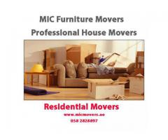 MIC House Furniture Movers and Packers Abu Dhabi