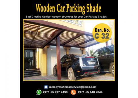 Car Parking Shade Suppliers | Wooden Car Parking in UAE | Mashrabiya Car Parking Dubai