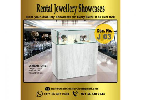 Rental Jewelry Display  | Jewelry Display Suppliers in Dubai | Events Display Showcases