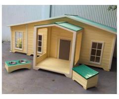 WM Wood House, Dog house with AC / Light, Big / Small Dog House, CALL 055 2196 236