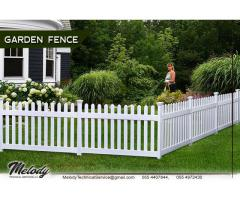 Picket Fence Suppliers in UAE | Garden Fence Dubai | Swimming Pool Fence | Restaurant Fence