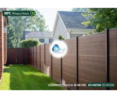 WPC Fencing in Dubai | WPC Decking in UAE |