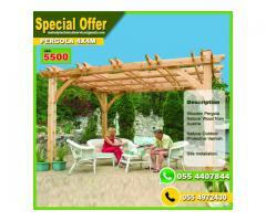 Wooden Pergola 50% Off   Pergola Special Offer Dubai, Abu Dhabi, Sharjah
