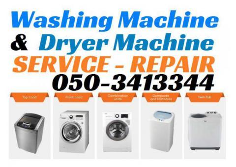 Washing Machine Repairing Service Fixing Center Workshop in Dubai