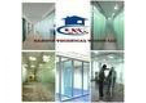 GLASS/GYPSUM PARTITION FURNITURE POLISH PAINT RENIVATION INTEARI0R DESING VILLA HOME 052-5569978