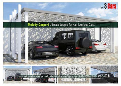 Mashrabiya Car Parking Shade | Wooden car Parking Shade Suppliers in Dubai, UAE