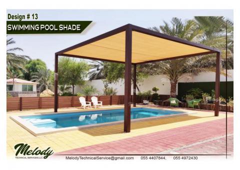 Pergola Sunshade | Steel Pergola | Wooden Pergola Suppliers | HDPE Roof Pergola in UAE