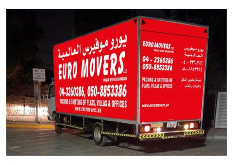 Euro Movers -Packers and Movers in Dubai - 0502556447|off rate