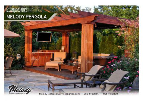 Pergola Fixing in Dubai , Abu Dhabi , UAE, Pergola Suppliers | Pergola Project