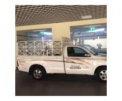 pickup truck for rent in  palm jumeirah 0504210487