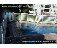 Wooden Fence UAE | Free stand Fence Dubai | Swimming Pool Fence | Garden Fence