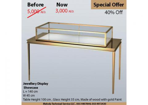 Display Showcases Dubai | Jewelry Display sale and Rental UAE |