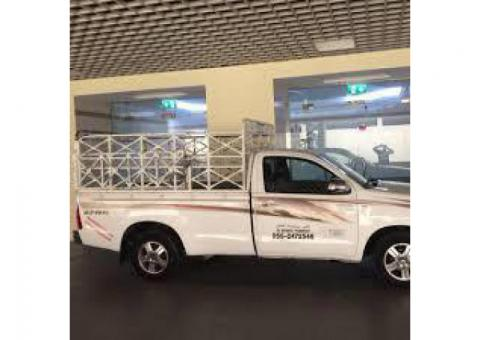 pickup truck for rent in satwa 0555686683