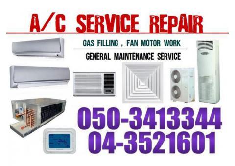 Ac Servcie Repair Gas Filling in Jebel Ali DIP DIC DWC Area Dubai