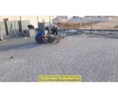 INTERLOCK CONTRACTORS DUBAI 0508963156