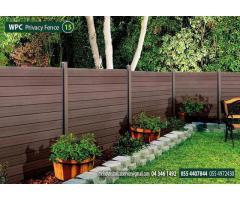 WPC Fence in Green Community | WPC Fence Suppliers in Dubai, Sharjah UAE