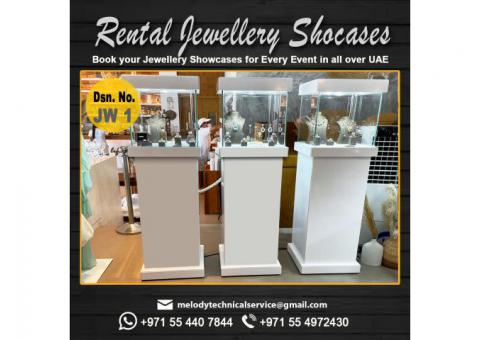 Jewelry Display Showcases in Dubai | Rental Jewelry Display Suppliers in UAE