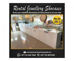 Jewelry Display Showcases in Dubai   Rental Jewelry Display Suppliers in UAE