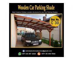 Car Parking Shade in Arabian Ranches | Wooden Car Parking Shade Suppliers Dubai, UAE